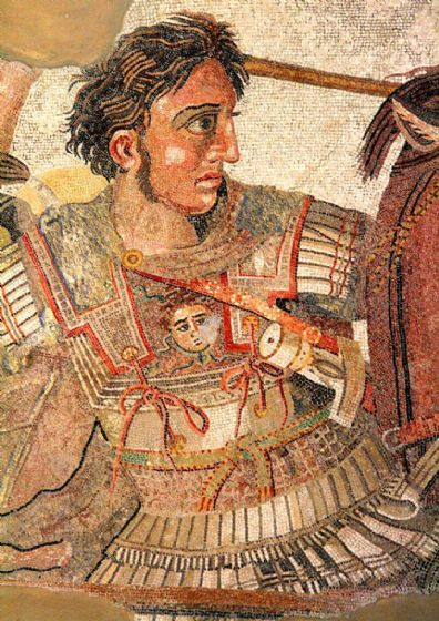 Battle Of Issus Mosaic; Alexander The Great. Print/Poster (5407